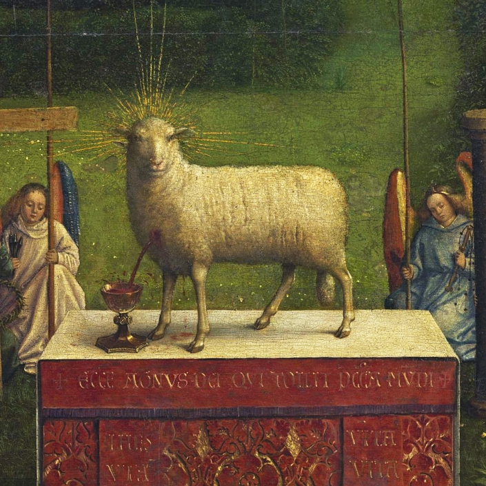 1432 - Hubert en Jan van Eyck - Sint-Baafskathedraal (Gent)
